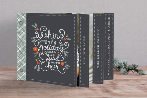 Minted Christmas Card Collection - love these super unique designs, and the way they support artists and designers!
