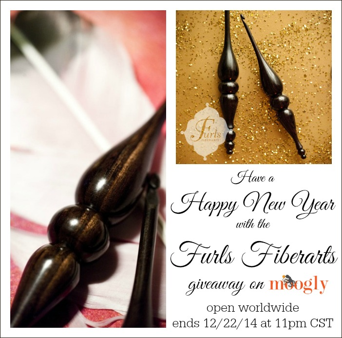 Furls Fiberarts: #Crochet Hook Giveaway on Moogly! Open worldwide, ends Dec 22 - see post for details!