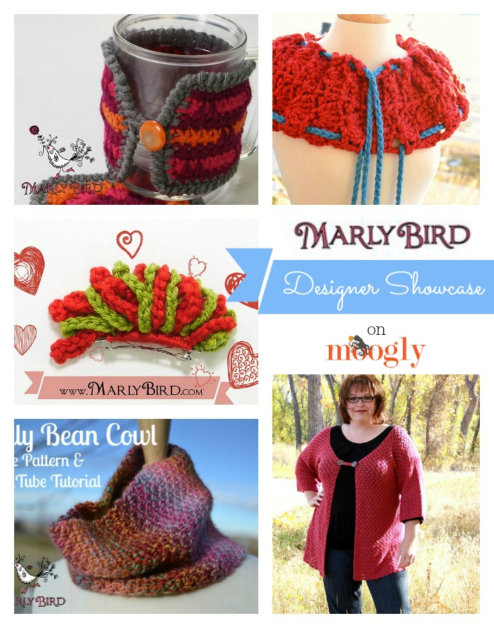 Marly Bird is in the Moogly Designer Showcase! Includes 5 Free #Crochet Patterns!