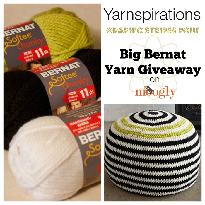 Win Bernat Softee Chunky Yarn on Moogly! Giveaway ends 12/9/14. see post for details!