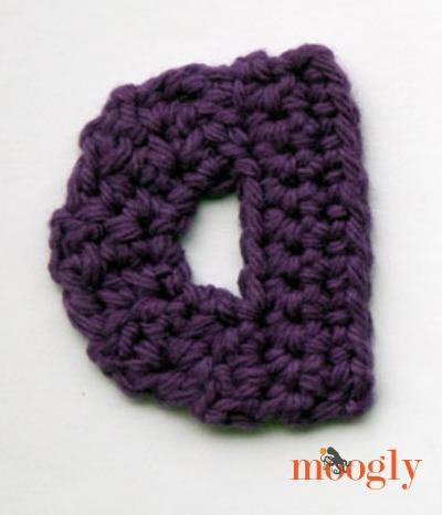 Moogly Lowercase Alphabet - free #crochet patterns!
