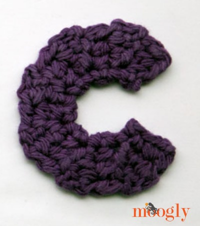Free Crochet Patterns The Moogly Lowercase Alphabet