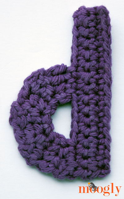 Crochet Stitches On Moogly : Free #Crochet Patterns: the Moogly Lowercase Alphabet!