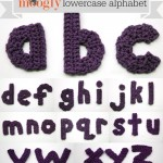 The Moogly Crochet Lowercase Alphabet