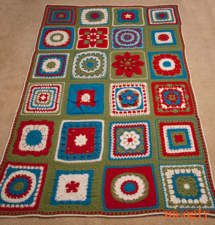The 2014 Moogly Afghan Crochet-Along!