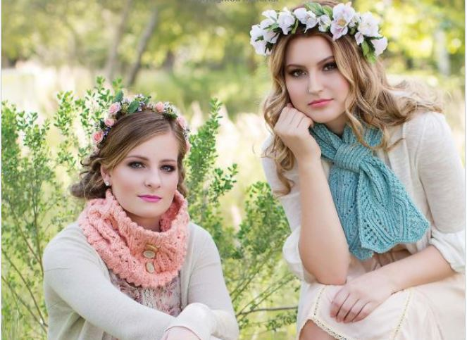 Dress-to-Impress Knitted Scarves: Giveaway on Moogly! US only, ends 1/12/15, details in post!