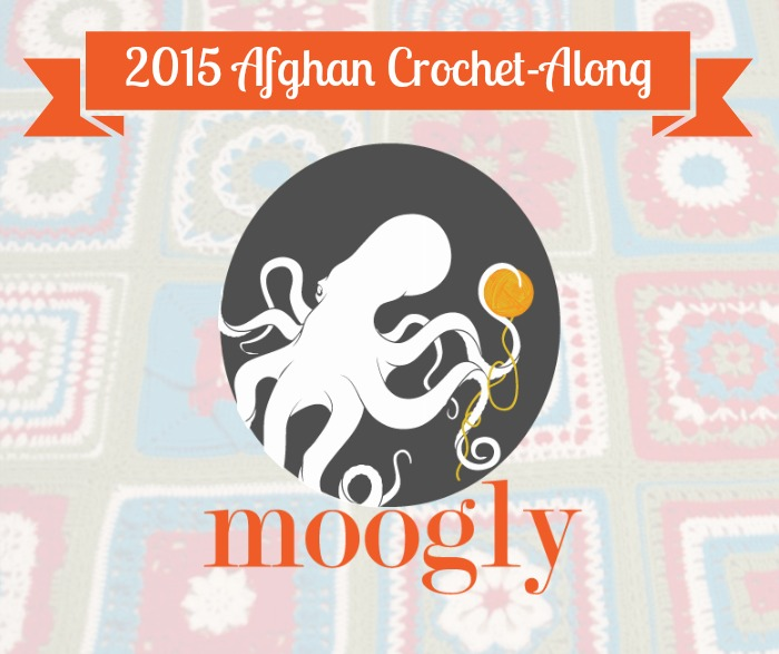2015 Moogly Afghan Crochet -Along - FREE #crochet patterns all year!