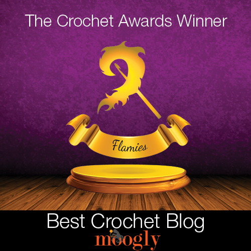 The Crochet Awards - Moogly won Best Crochet Blog for 2014!