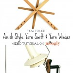 How to Use a Yarn Swift and Winder