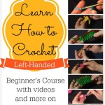 Learn How to #Crochet Left Handed! Video tutorials on Mooglyblog.com!