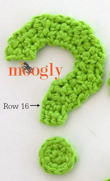 Crochet Questions : Moogly Crochet Punctuation Set - free full alphabet, numbers, and ...