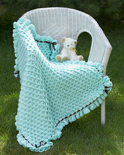 Beautiful free #crochet blanket patterns - one color and lots of texture!