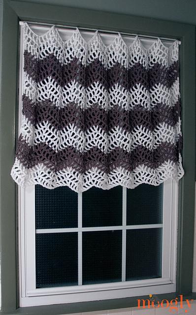 Curtains Ideas crochet curtain patterns valances : 10 Free #Crochet Curtain Patterns - Collection by Moogly!