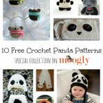 10 Free Crochet Panda Patterns