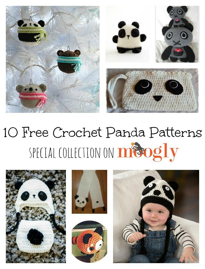 Free Crochet Panda Afghan Patterns : 10 Free Crochet Panda Patterns - moogly