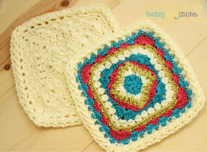 Block #4 for the Moogly Afghan 2015 CAL! Family Square!