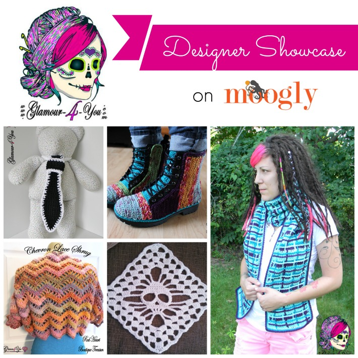 Glamour4You Designer Showcase with 5 Free #Crochet Patterns on Moogly!