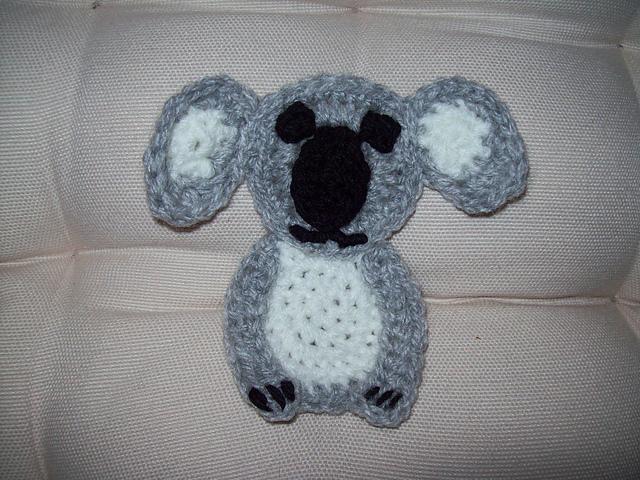 Free Amigurumi Koala Pattern : Cuddly koala free crochet lovey pattern