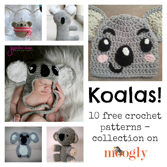 Crazy for #Crochet Koalas: 10 Free Patterns!