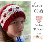 How to Crochet the Love Is Cold Ear Warmer