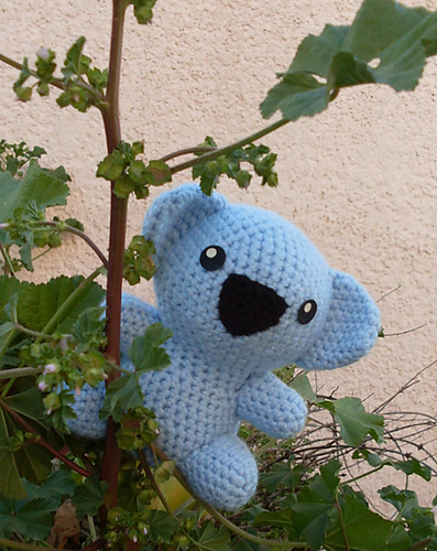 Little koala free amigurumi pattern | Amigurumi Space | 500x397
