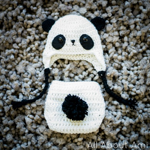 10 Free Crochet Panda Patterns - moogly