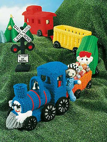 Free Crochet Patterns On The Move Planes Trains And