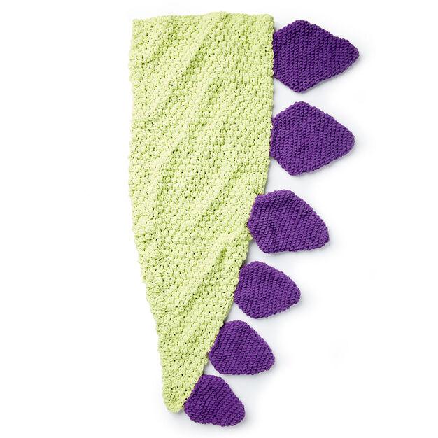 Dinosaur Snuggle Sack - free crochet pattern