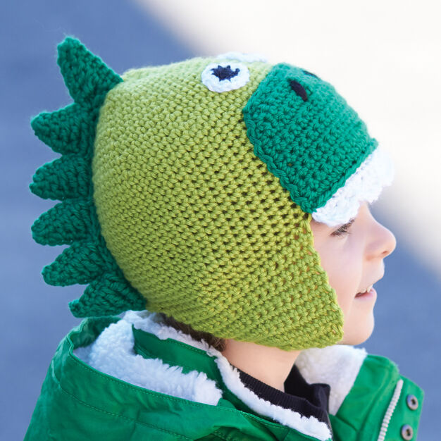 Hatosaurus! Free crochet pattern