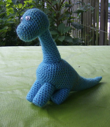 10 Free Crochet Dinosaur Patterns in a Collection on Moogly!