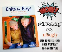 Knits for Boys - giveaway on Moogly! Ends 3/31/15 at 12:15am central