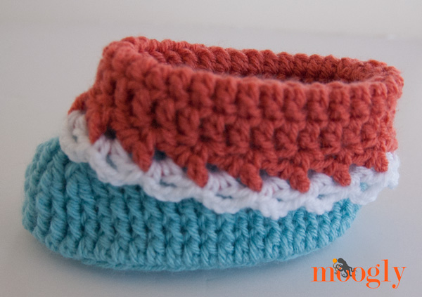Loopy Love Toddler Booties - new FREE crochet pattern on Moogly!