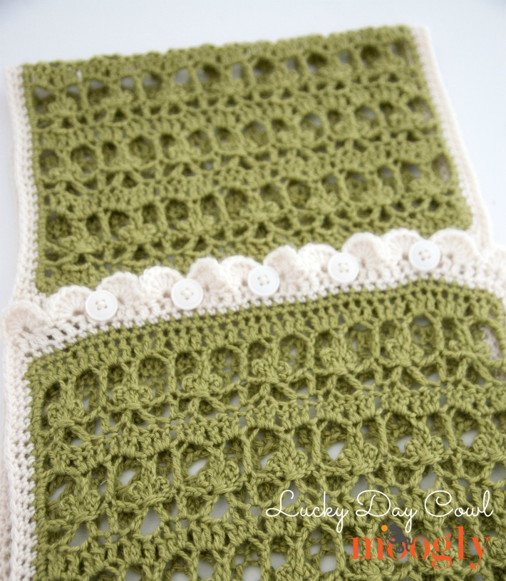 Lucky Day Cowl - Free #crochet pattern on Moogly! ♥