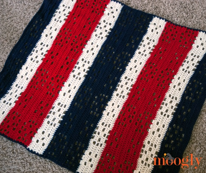 Red White And Baby Blanket For The Worlds Biggest Stocking Moogly