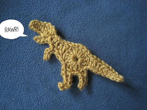 Crochet Dinosaur : 10 Free Crochet Dinosaur Patterns in a Collection on Moogly!