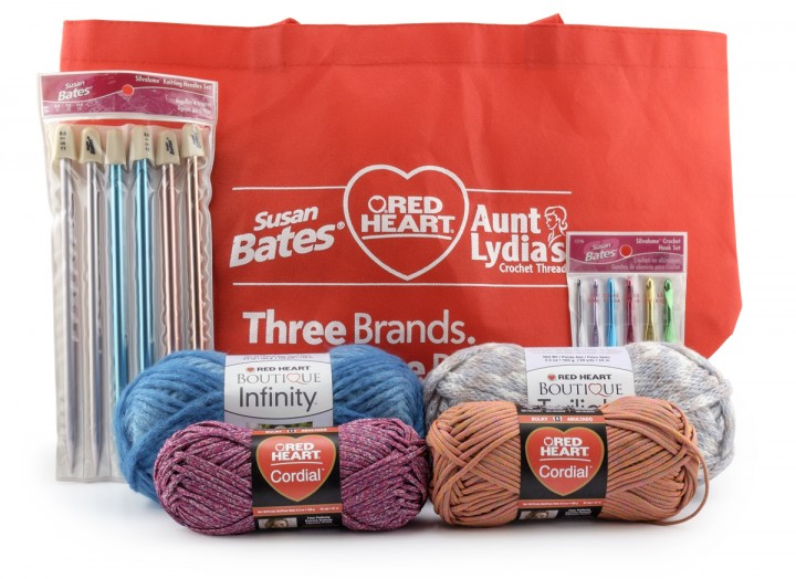 Fantastic Red Heart Yarns Giveaway on Moogly! Ends 4/30/15, see post for details!