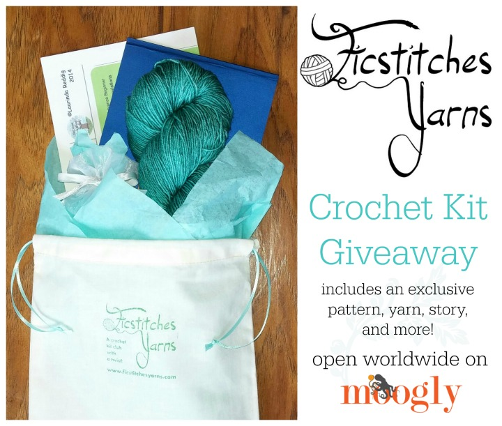 Ficstitches Yarn Giveaway on Moogly! Open worldwide, see post for details. Ends 4/16/15!
