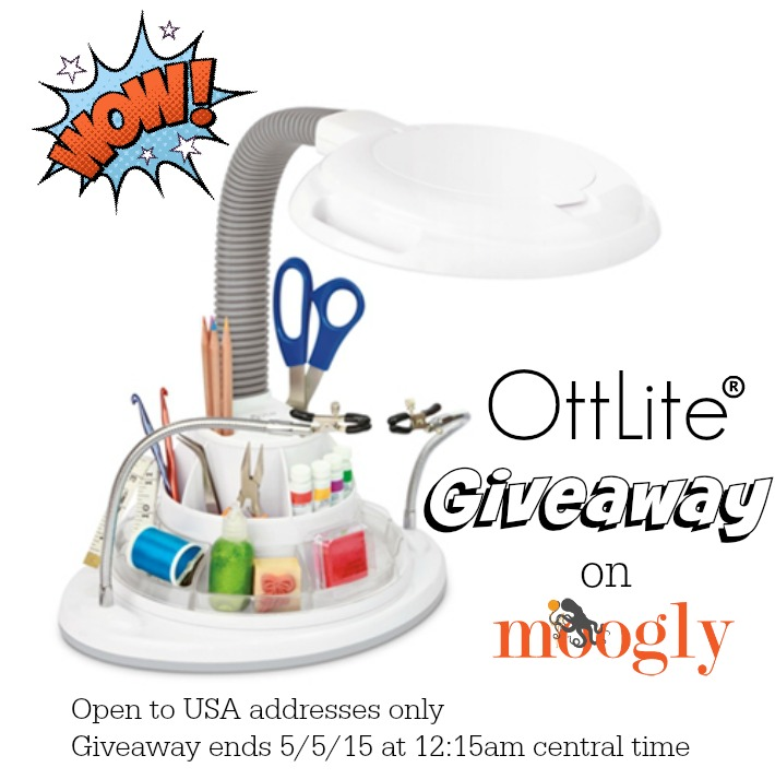 OttLite Giveaway on Moogly! Open to US residents, ends 5/5/15 at 12:15am Central