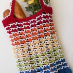 Spring 2015 Moogly Mini Crochet-Along Part 2: Rainbow Runner Tote