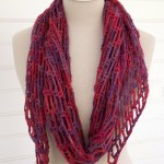 Artfully Simple Angled Scarf - a new crochet pattern on Moogly!