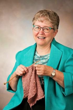 "Dela Wilkins, author of ""Railway Knitting"""