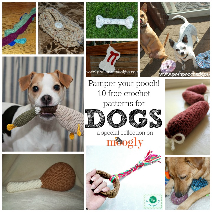 Crochet Patterns Pets : Gone to the Dogs: 10 Free #Crochet Patterns for Your Pets!