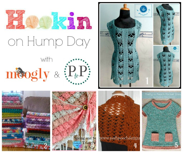 Hookin On Hump Day #95 - fantastic projects from bloggers around the world!