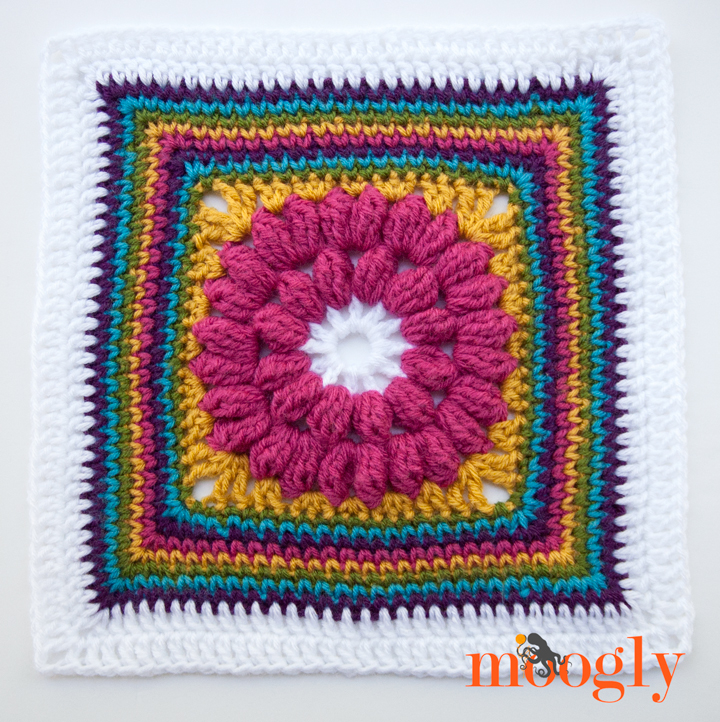 Block #10 in the Moogly 2015 Afghan Crochet Along!