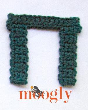 Crochet the Greek Alphabet - free patterns on Mooglyblog.com!