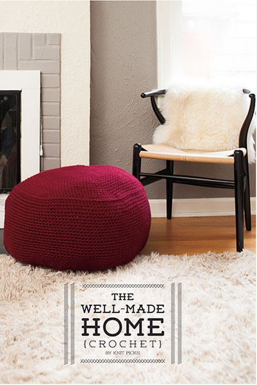 "Beautiful crochet projects from ""The Well Made Home"" by Knit Picks!"