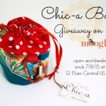Chic-a Bag Giveaway on Moogly!