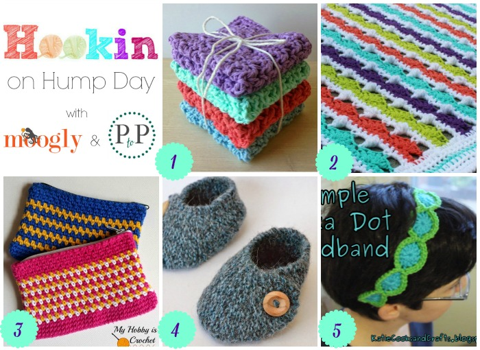 Hookin On Hump Day #96 - link party for the yarny arts!