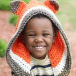 Crochet Fox Bonnet by Busting Stitches - FREE crochet pattern!