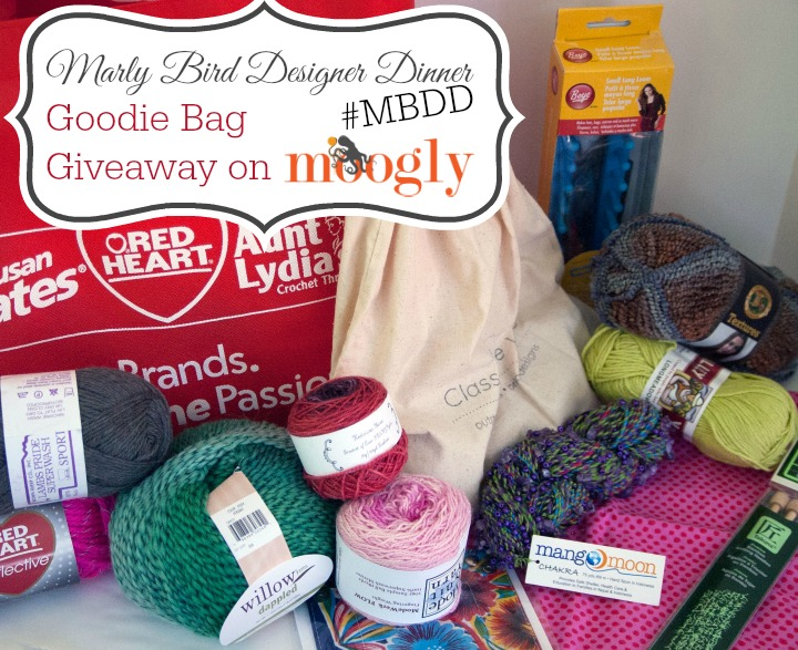 Marly Bird Designer Dinner - Win the Goodie Bag!! Enter on Mooglyblog.com, open worldwide, ends 6/17/15!